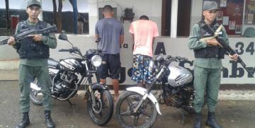 GNB Guárico detuvo a hombres implicados en extorsión y robo