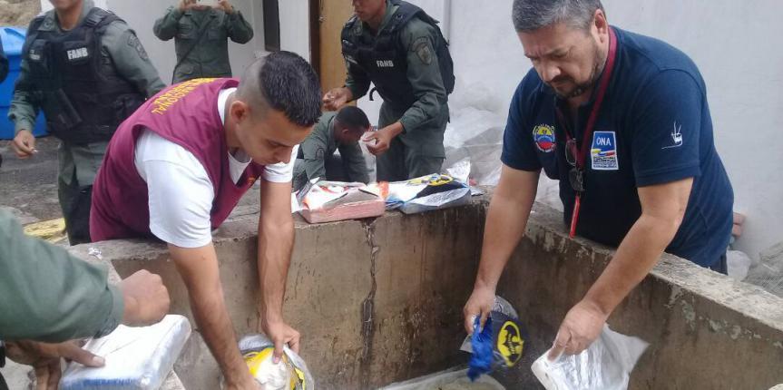 Más de 500 kilos de droga fueron incineradas en el estado Táchira