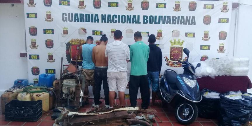 GNB detiene a ocho ciudadanos por contrabando en el estado Táchira