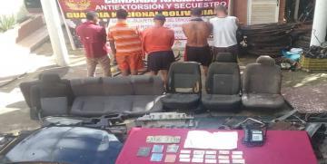 "Gaes 81 detiene a integrantes de la Banda ""El Tato"" en Anzoátegui"