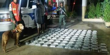 GNB incauta 103 envoltorios de presunta cocaína y detención de dos ciudadanos en el estado Falcón