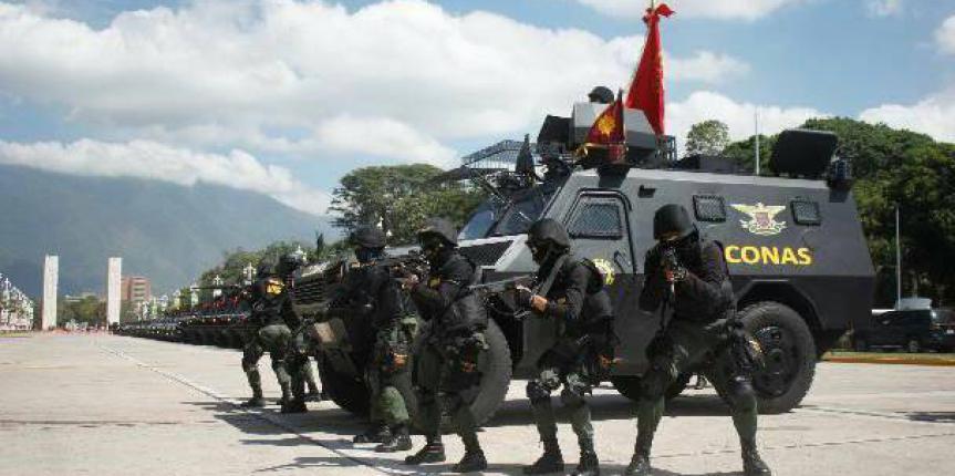 Comando Nacional Antiextorsión y Secuestro GNB rescata joven secuestrado en Guatire