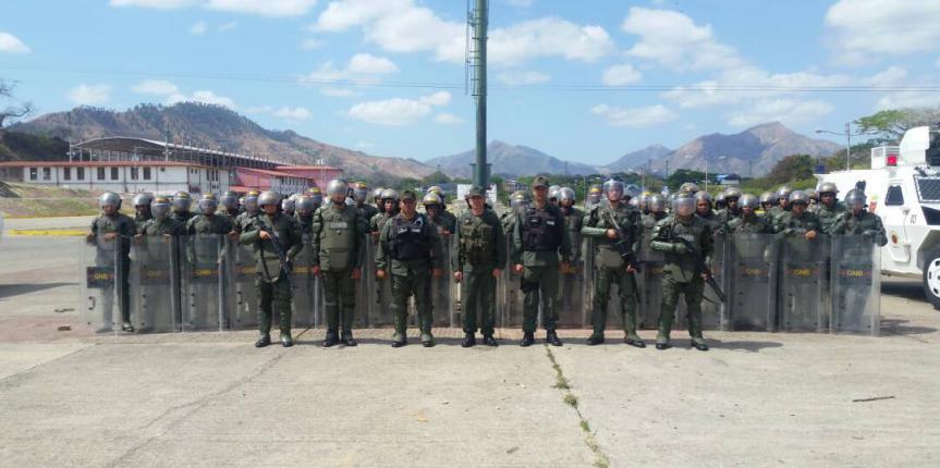 GNB Guárico realizó actividad de orden público y control de orden interno