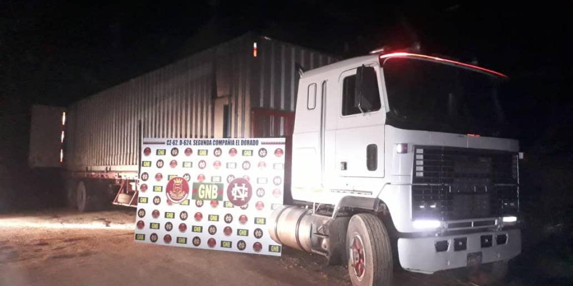 GNB detiene a ciudadano con seis  toneladas de material estratégico en el estado Bolívar