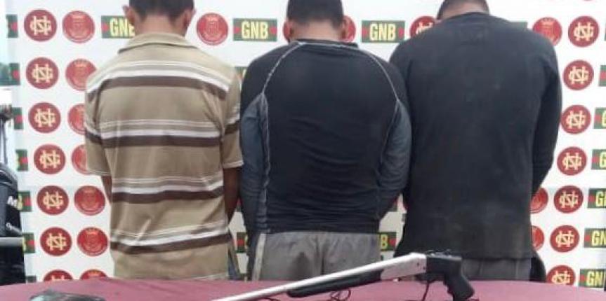 Comando de Vigilancia Costera continúa luchando contra el flagelo de las drogas en el estado Delta Amacuro