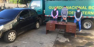 GNB Capital capturó en flagrancia a 3 integrantes de la Banda Cumbres de Antímano