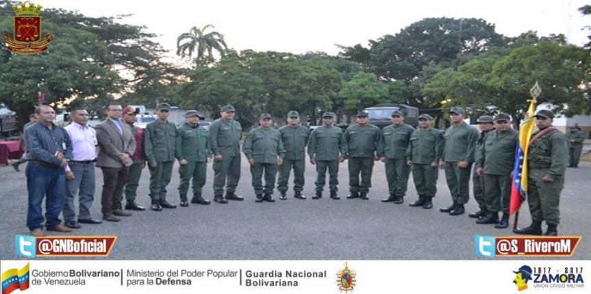 GNB Guárico tiene nuevos Comandantes de Destacamentos