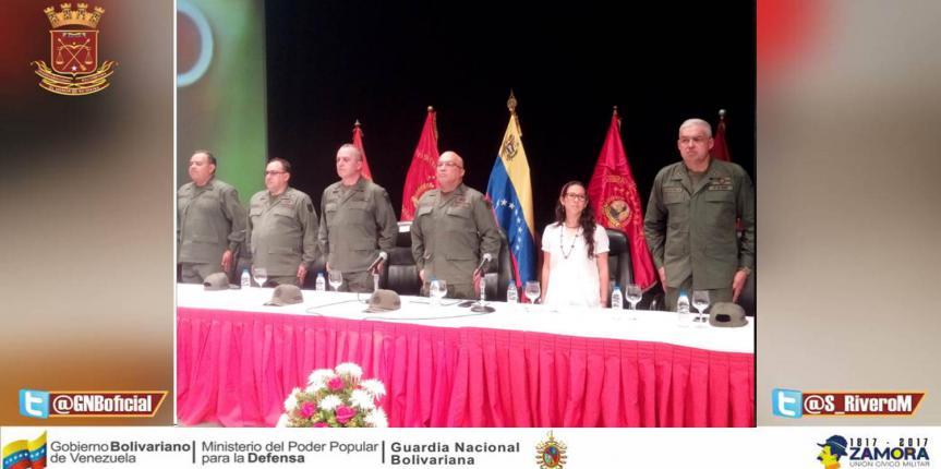 Comandante General de la GNB presidió acto con motivo a la activación del proyecto Chamba Juvenil