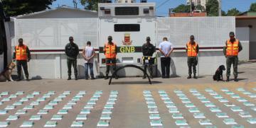 Nuevo golpe al narcotráfico da la GNB en el estado Anzoátegui