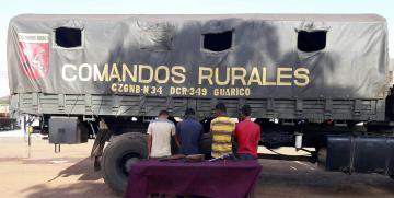 Comando Rural frustró robo en finca en Guárico