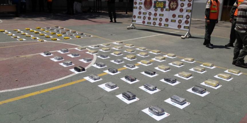83 envoltorios de marihuana incautó la GNB en Barcelona en dos golpes