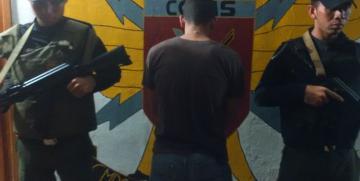 GAES Mérida detienen a un ciudadano por extorsión