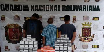 GNB desmantela banda que se dedicaba a sacar medicinas del país