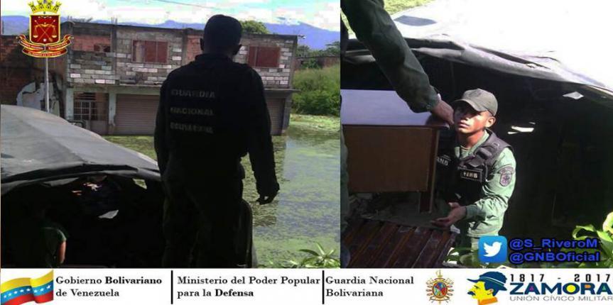 Compromiso Patrio GNB Aragua continúa intenso apoyo a los afectados por inundaciones en Paraparal