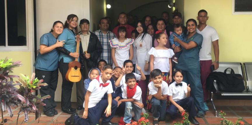 Niñas y niños del CENAIN reciben visita institucional de la Comisión permanente de Atención a las personas con discapacidad de la Asamblea Nacional Constituyente