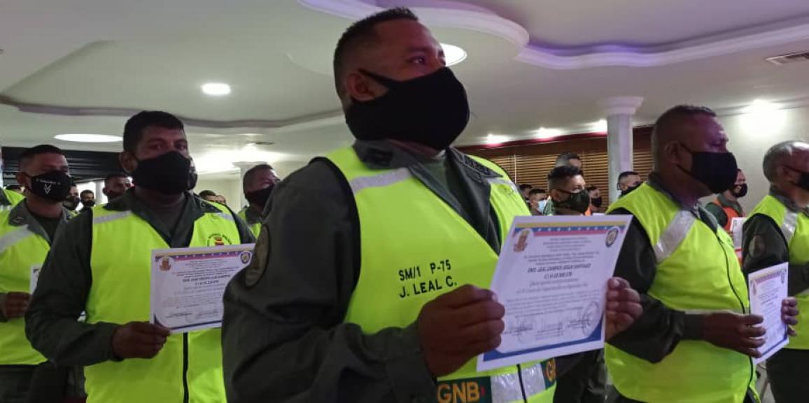 La GNB Zulia tiene nuevos guardias nacionales expertos en vehículos y seguridad vial
