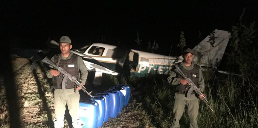 GNB neutraliza avioneta utilizada para el tráfico de droga y combustible en Cojedes