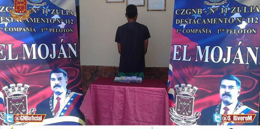 Garantizando la Circulación del Cono Monetario GNB Zulia capturó a dos ciudadanos con 8.738.000 BsF en efectivo
