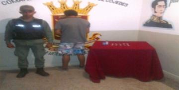 GNB Cojedes detuvo a dos ciudadanos con droga