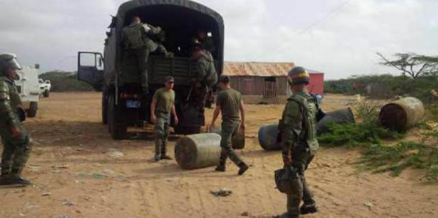GNB retiene 40 mil 700 litros de gasolina en la Guajira