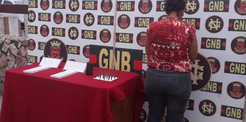 GNB apresó a ciudadana con 400 municiones para armas largas en el estado Bolívar
