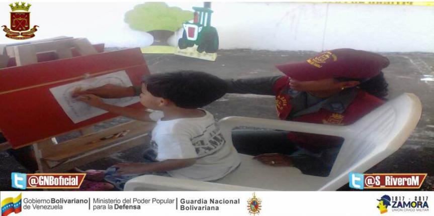 Guardia del Pueblo Delta Amacuro realizó Jornada Social en el marco de su 6to aniversario