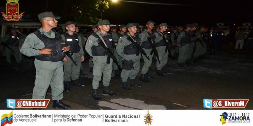 Organismos de seguridad desplegaron operativo preventivo en Guárico