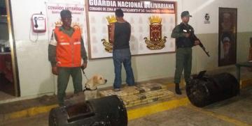 GNB Guárico decomisó cargamento de 106 kilos de cocaína