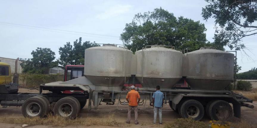 GNB Lara detuvo a dos ciudadanos y retuvieron un camión con cisterna para cemento a Granel por desvío de ruta
