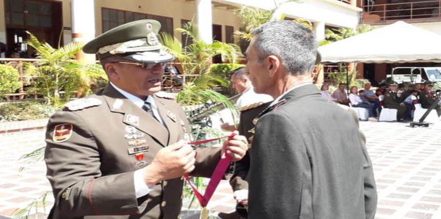 Comando de zona de la GNB Mérida realizó acto con motivo al Pase a la situación de reserva activa al personal de tropa profesional