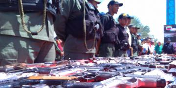 Capturados por la GNB cuatro ciudadanos con tres armas de fuego en Anzoátegui
