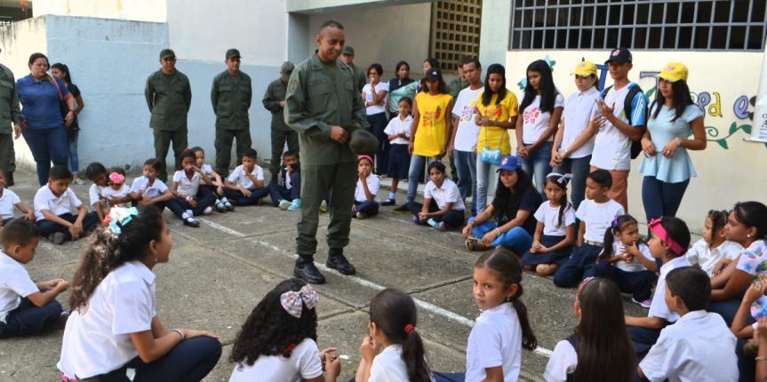"""Activado dispositivo el """"Guardia va a la Escuela"""" en Guárico"""