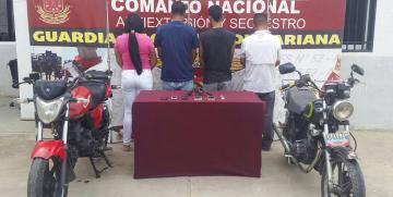 """GAES 52 Anzoátegui desmantela Banda """"Los Guacucos"""" en Barcelona"""