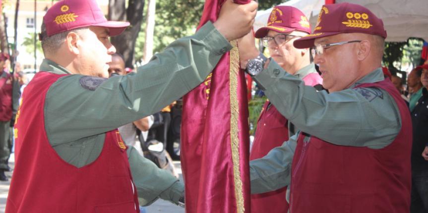 Comando Guardia del Pueblo cuenta con nuevo Comandante