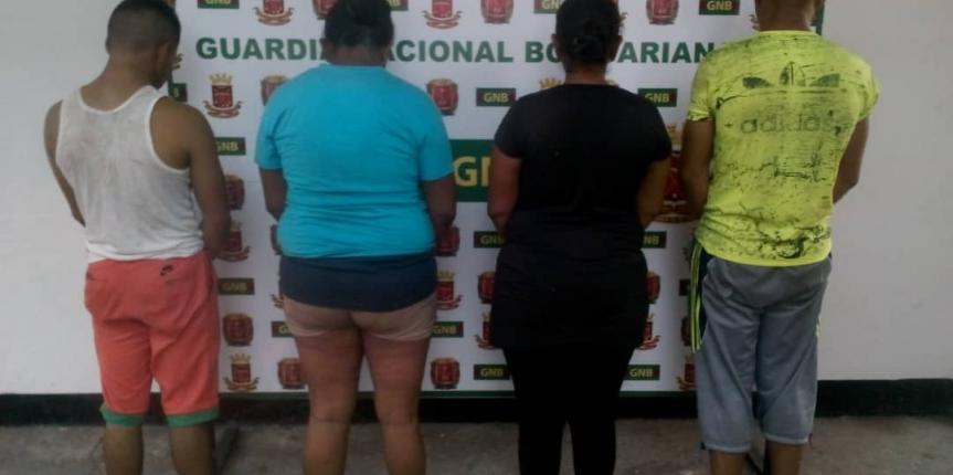 GNB incautó arsenal de armas en la población de Tumeremo del estado Bolívar