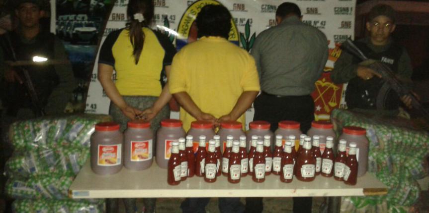GNB Capital captura a tres ciudadanos por acaparamiento de productos de primera necesidad