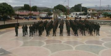 113 alumnos fueron ascendidos a segunda fase del Quinto curso de Tropa Profesional de la GNB en Falcón