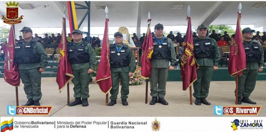 Comando de Zona Zulia realizó Acto de Transmisión  de Mando de Unidades Tácticas adscritas a la GNB