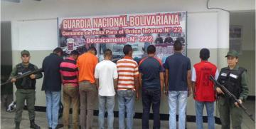 """GNB  desmantela banda """"Los Chivos"""" en la Panamericana del estado Mérida"""