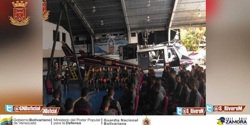 Comando Aéreo realizó reunión de Apresto Operacional