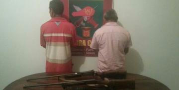 GNB capturó a dos ciudadanos con escopetas en Anzoátegui