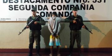 GNB captura homicida en Cumanacoa estado Sucre