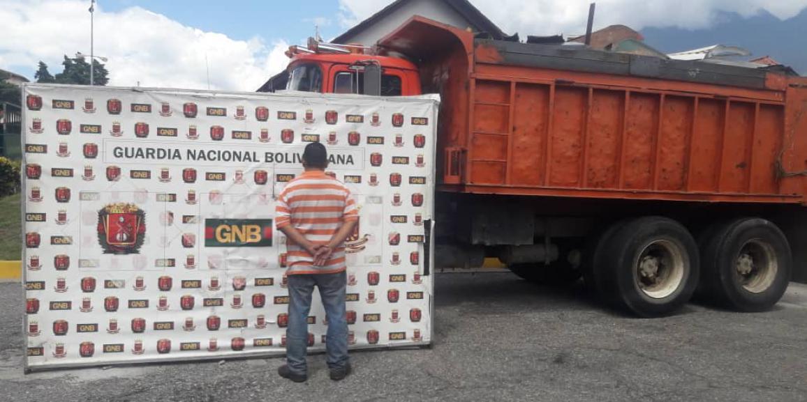 GNB incauta más de dos toneladas de material estratégico en Campo Elías estado Mérida