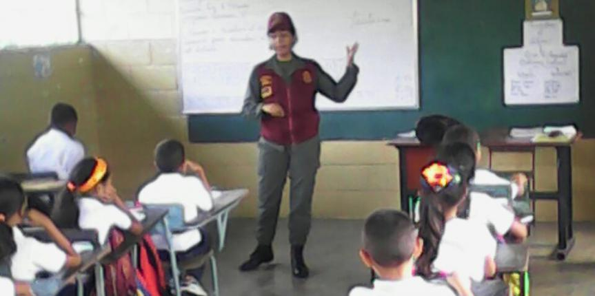 """Guardia del Pueblo Portuguesa continúa con el Dispositivo """"El Guardia va a la Escuela"""""""