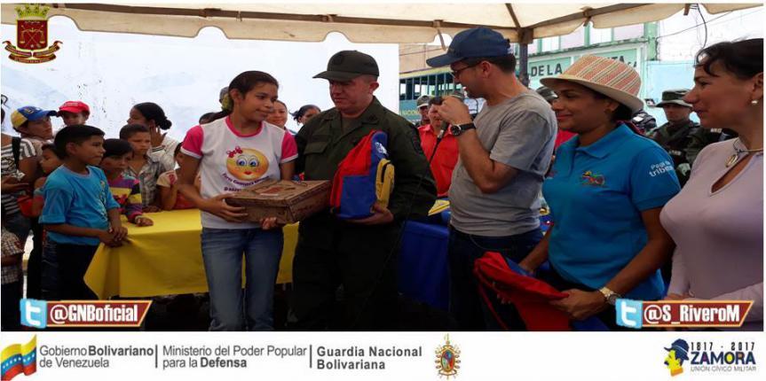 GNB y Alcaldía realizaron Jornada Integral Socialista Cívico Militar