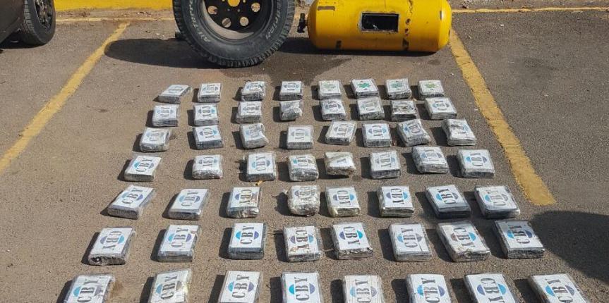 Duro golpe al narcotráfico GNB incautó cargamento de cocaína en Guárico
