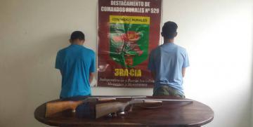 Detenidos adolescentes que portaban escopetas en Anzoátegui