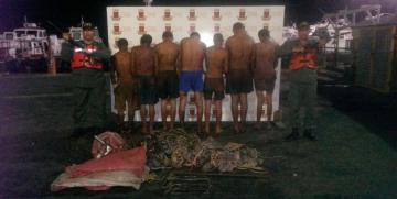 Vigilancia Costera GNB desmantela banda dedicada al hurto de material petrolero en la Costa Oriental del Lago de Maracaibo