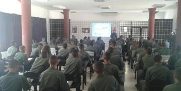 """Comando de Zona y Cega Carabobo dicta charla en conmemoración del """"día mundial de los mares"""""""