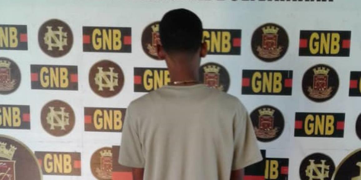 GNB capturó a ciudadano solicitado en el estado Bolívar